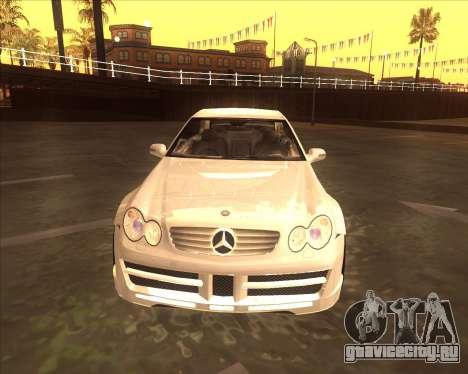 Mercedes CLK 500 из NFS Most Wanted для GTA San Andreas вид слева