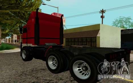 JoBuilt Hauler Fixet из GTA 5 для GTA San Andreas вид слева