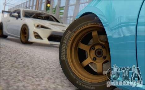 Scion FR-S 2013 Beam для GTA San Andreas вид слева