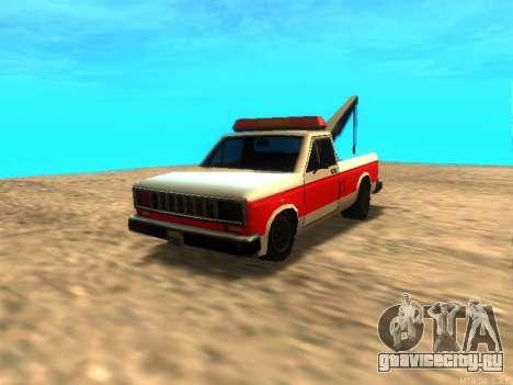 Новый Эвакуатор (Bobcat) для GTA San Andreas вид слева