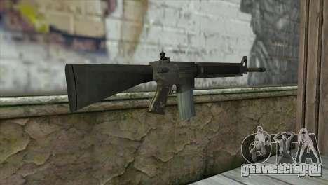 M16A4 Assault Rifle для GTA San Andreas второй скриншот