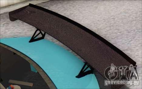 Scion FR-S 2013 Beam для GTA San Andreas вид сверху