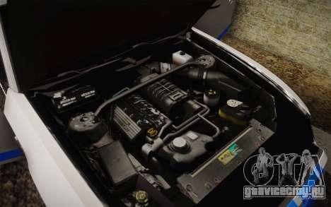 Ford Shelby GT500 2013 для GTA San Andreas вид сверху