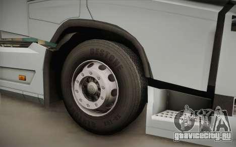 Volvo FH 750 2014 для GTA San Andreas вид сзади