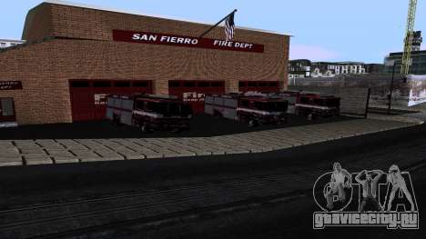 Updated San Fierro Fire Dept для GTA San Andreas
