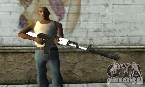 Golden AK47 для GTA San Andreas третий скриншот