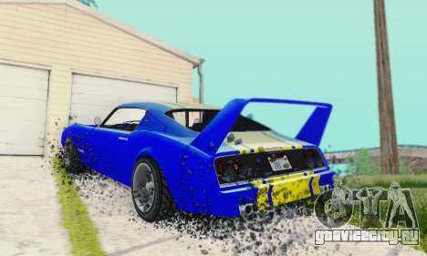 Imponte Phoenix из GTA 5 для GTA San Andreas вид сзади
