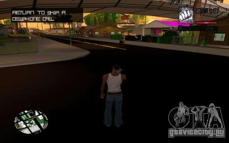 C-HUD by Smoke для GTA San Andreas третий скриншот