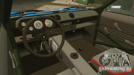 Ford Escort MK1 FnF Edition для GTA 4 вид сзади