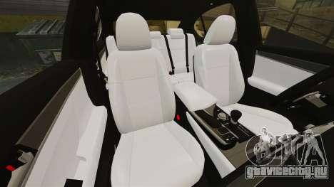 Lexus GS 300h для GTA 4 вид сбоку