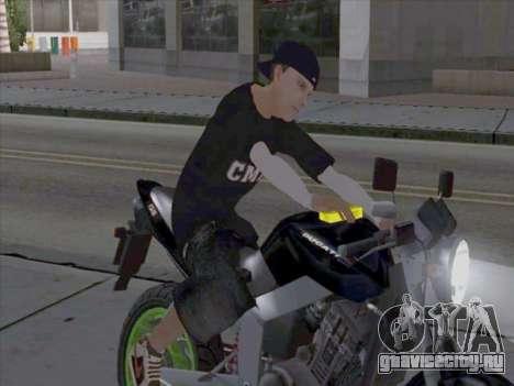 Скин работника СМИ для GTA San Andreas второй скриншот