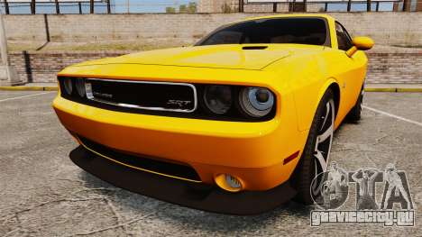 Dodge Challenger SRT8 2012 для GTA 4