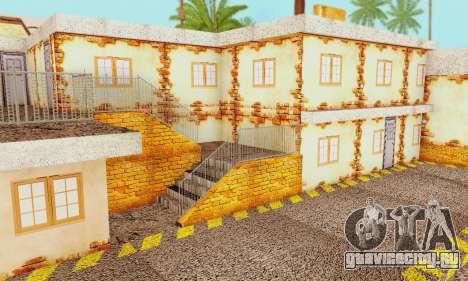 Новая текстура пиццерии и отеля в Иделвуде для GTA San Andreas двенадцатый скриншот