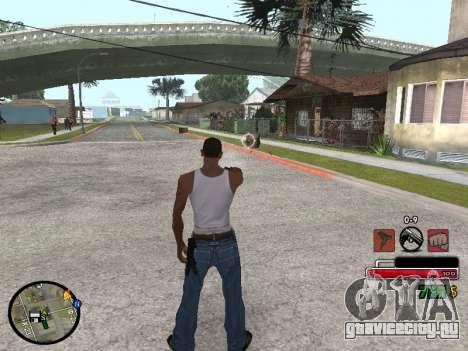 C-HUD by Martin для GTA San Andreas