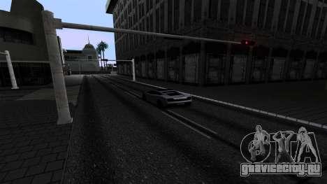 New Roads v2.0 для GTA San Andreas