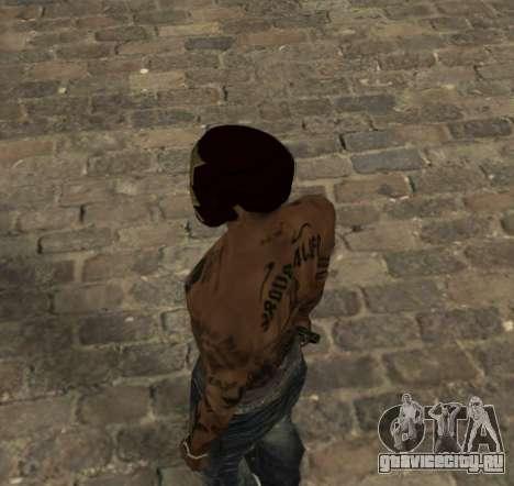 Маска Железного Человека для CJ для GTA San Andreas второй скриншот