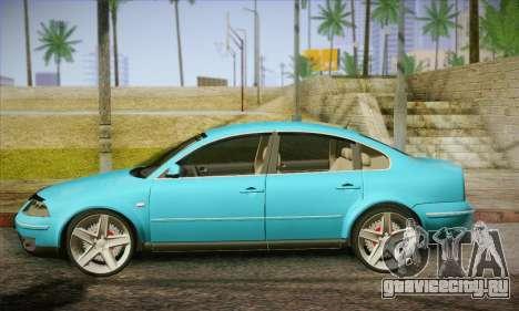 Volkswagen Passat для GTA San Andreas вид слева