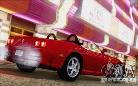 Ferrari 550 Barchetta для GTA San Andreas вид слева