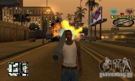 C-HUD New Liberia для GTA San Andreas второй скриншот