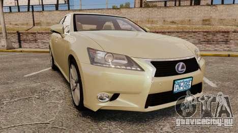 Lexus GS 300h для GTA 4