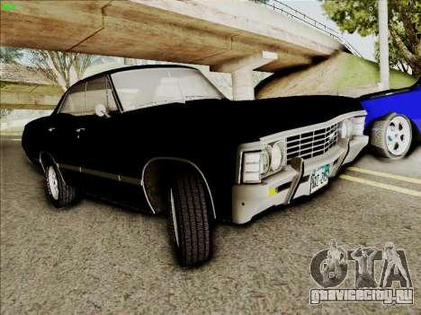 Chevrolet Impala SS 1967 Hardtop Sedan 396 для GTA San Andreas