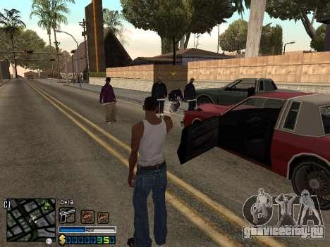C-HUD By Stafford для GTA San Andreas четвёртый скриншот