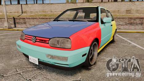 Volkswagen Golf MK3 Harlequin для GTA 4