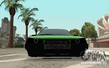 ВАЗ 2109 Алмазный Лайм для GTA San Andreas вид сзади слева