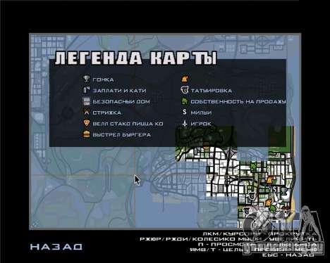 Иконки радара из мобильной версии игры для GTA San Andreas второй скриншот