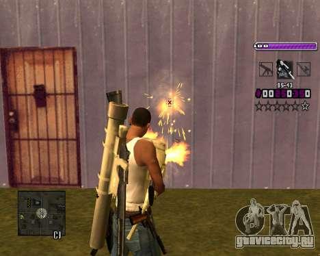 C-HUD Lite v3.0 для GTA San Andreas шестой скриншот