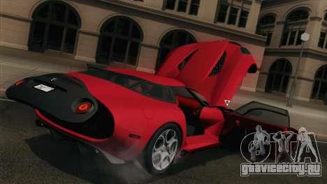 Alfa Romeo Zagato TZ3 2012 для GTA San Andreas вид сбоку