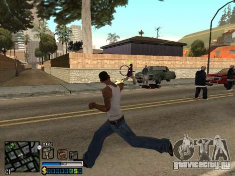 C-HUD By Stafford для GTA San Andreas шестой скриншот