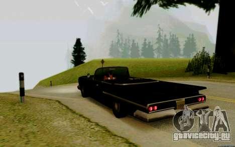 Voodoo Кабриолет (версия с фарами) для GTA San Andreas вид слева