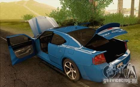 Dodge Charger SRT8 2006 для GTA San Andreas вид сбоку