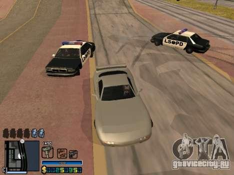 C-HUD By Stafford для GTA San Andreas десятый скриншот