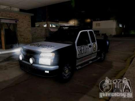 Chevrolet Colorado Sheriff для GTA San Andreas двигатель
