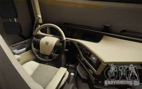 Volvo FH 750 2014 для GTA San Andreas вид изнутри