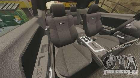 Dodge Challenger SRT8 2012 для GTA 4 вид сбоку