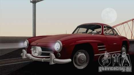 Mercedes-Benz 300SL 1955 для GTA San Andreas вид сзади слева