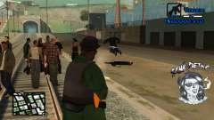 C-HUD Tawi Detka для GTA San Andreas