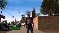 C-HUD Hulk для GTA San Andreas