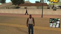 Vagos Gang HUD для GTA San Andreas