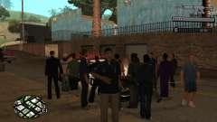 C-HUD Smoke для GTA San Andreas