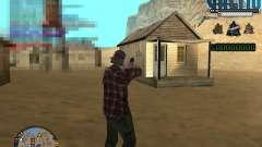 C-Hud Ghetto для GTA San Andreas