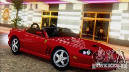 Ferrari 550 Barchetta для GTA San Andreas