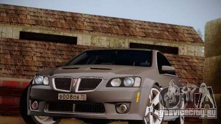 Pontiac G8 GXP 2009 для GTA San Andreas
