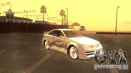 Mercedes CLK 500 из NFS Most Wanted для GTA San Andreas