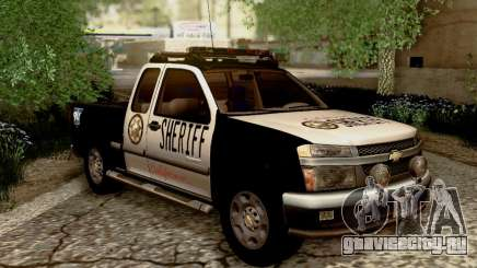 Chevrolet Colorado Sheriff для GTA San Andreas
