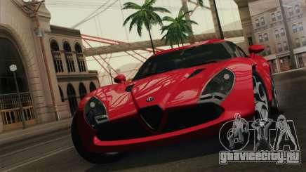 Alfa Romeo Zagato TZ3 2012 для GTA San Andreas