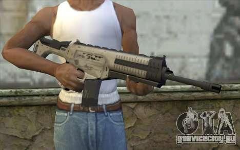 ARX-160 Assault Rifle из COD Ghosts для GTA San Andreas третий скриншот